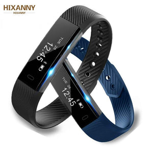 Smart Wristband Fitness Tracker Band Bluetooth Sleep Monitor Watch Sport - Smoothpushstore