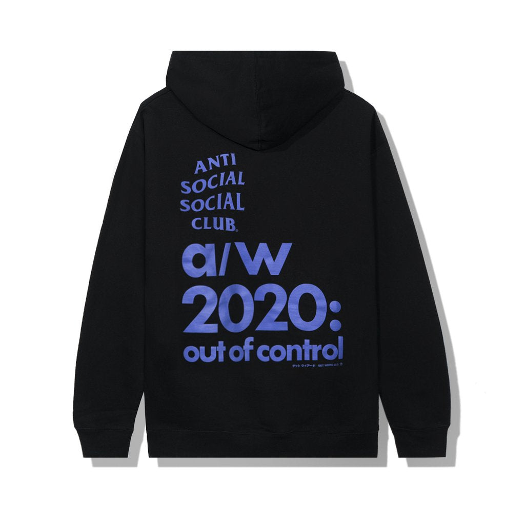 Anti Social Social Club 2020 Hoodie Black