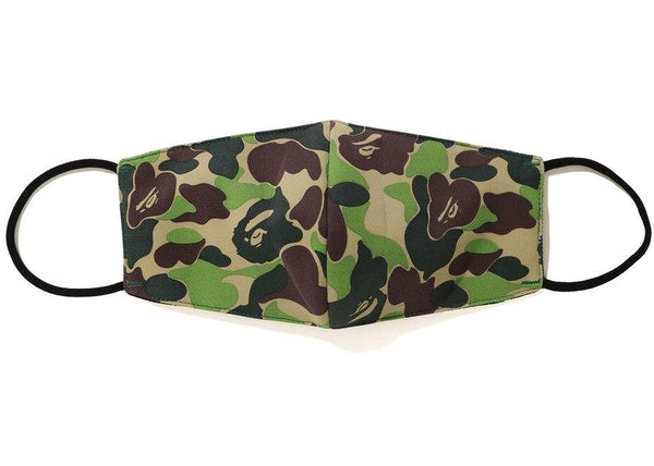 BAPE ABC Camo Mask (SS20) Green