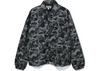 Bape ABC Camo Relaxed Coach Jacket Black