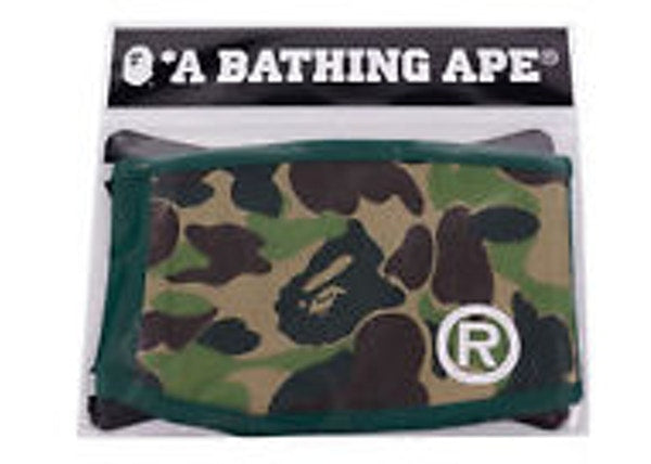 BAPE ABC Camo Mask Green