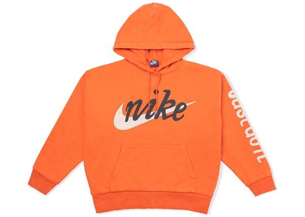 Nike x Cactus Plant Flea Market Shoebox Heavyweight Hooded Pullover Orange