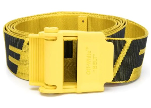 OFF-WHITE Industrial Belt Yellow/Yellow
