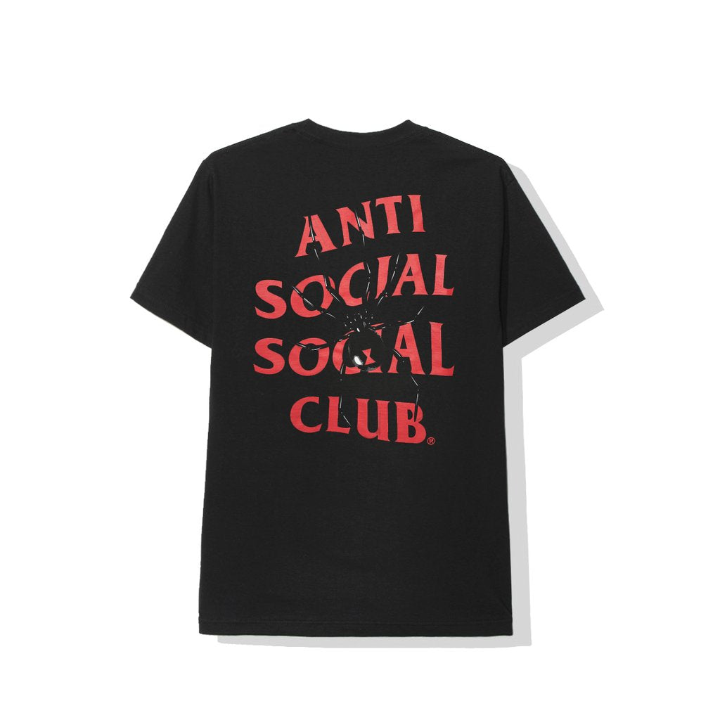 Anti Social Social Club Bitter Tee Black