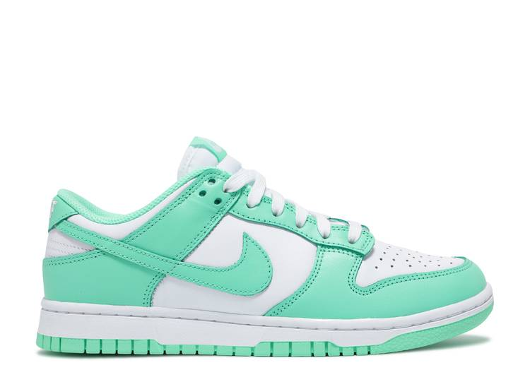 WMNS Nike Dunk Low Green Glow