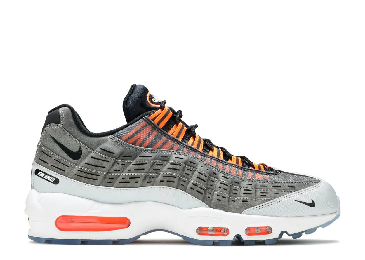 Nike Air Max 95 Kim Jones Black Total Orange