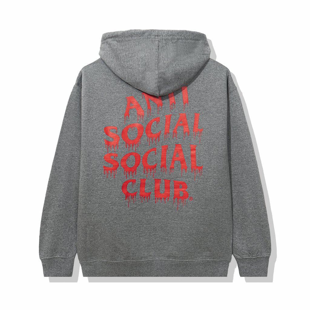 Anti Social Social Club Liatard Hoodie Grey