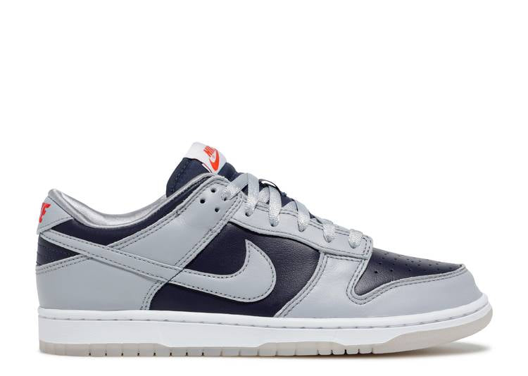 WMNS Nike Dunk Low College Navy Grey (2021)