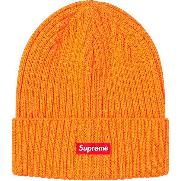 Supreme Overdyed Beanie (SS20) Tangerine