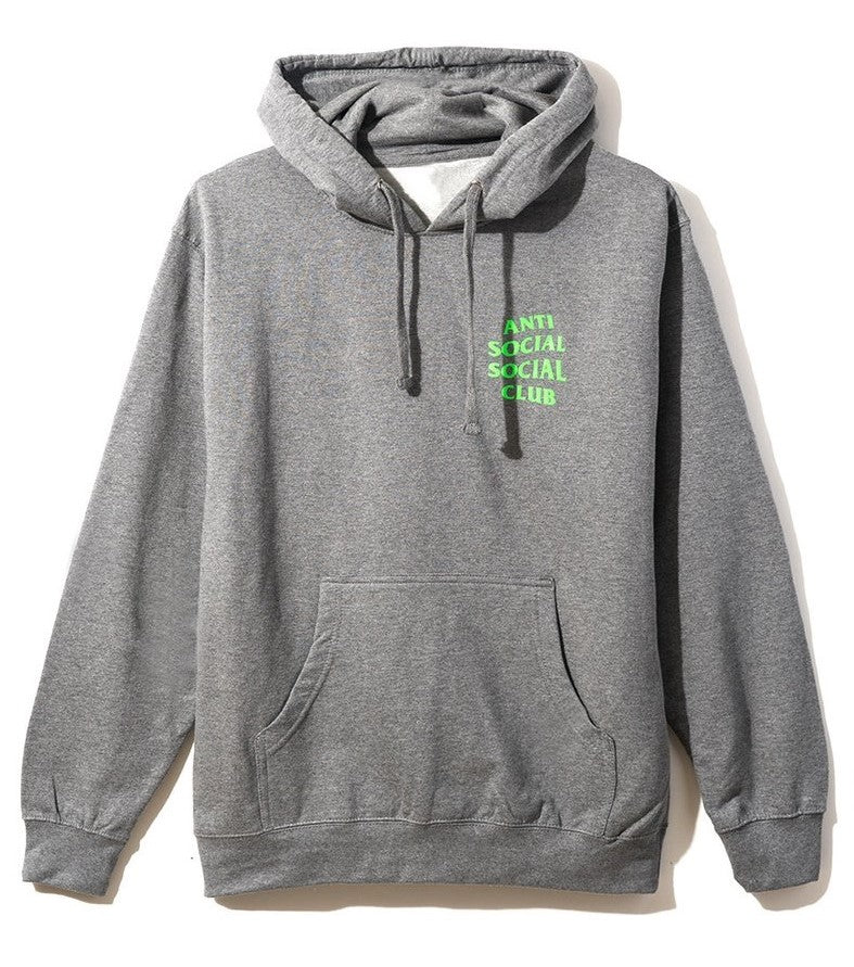 Anti Social Social Club Solid Snake Hoodie Grey