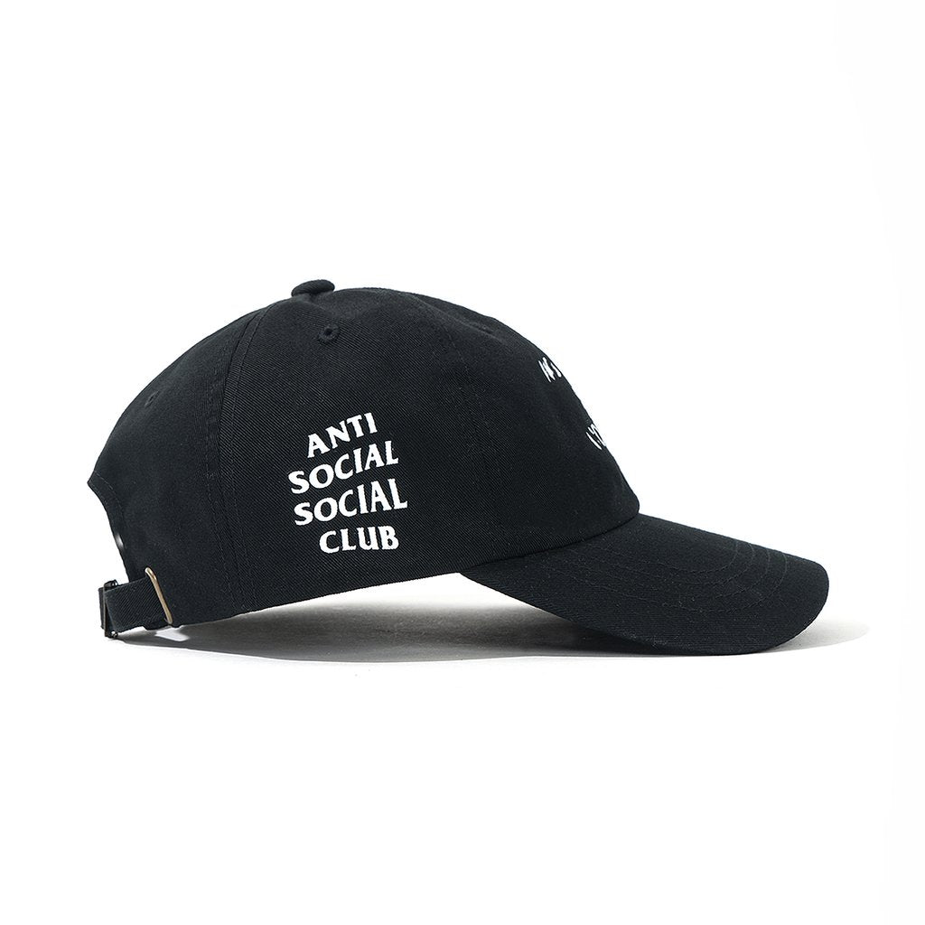 Anti Social Social Club Spiral Cap Black