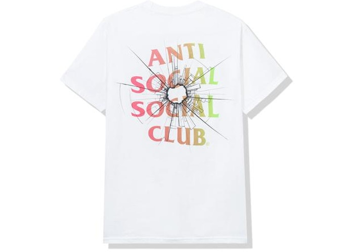 Anti Social Social Club Theories Tee White