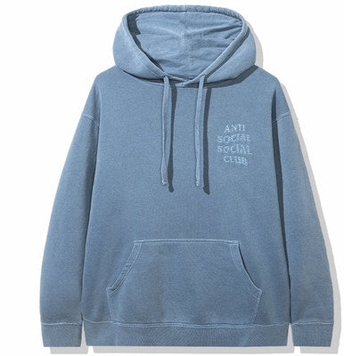 Anti Social Social Club Tone Deaf Hoodie Blue