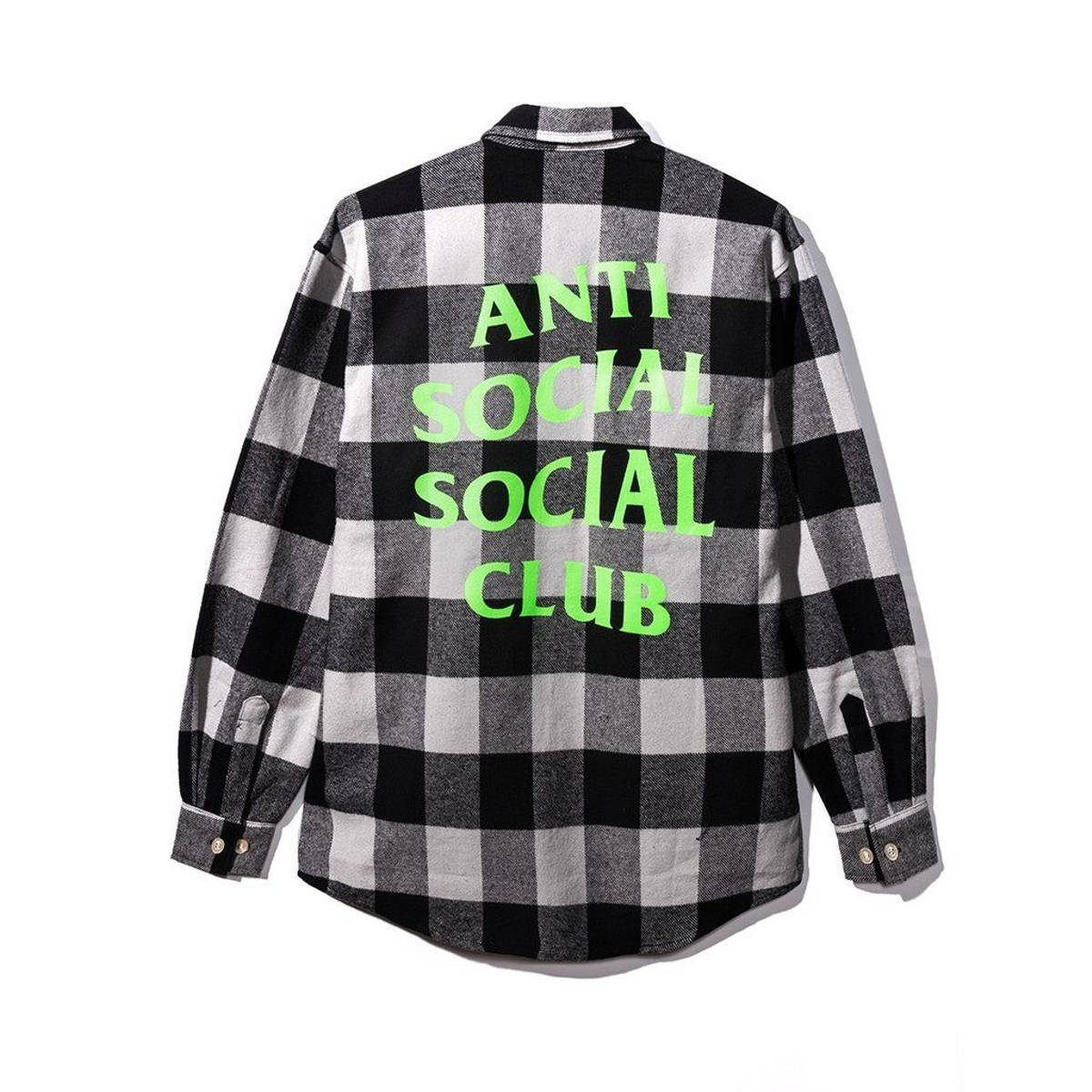 Anti Social Social Club Woodman Flannel