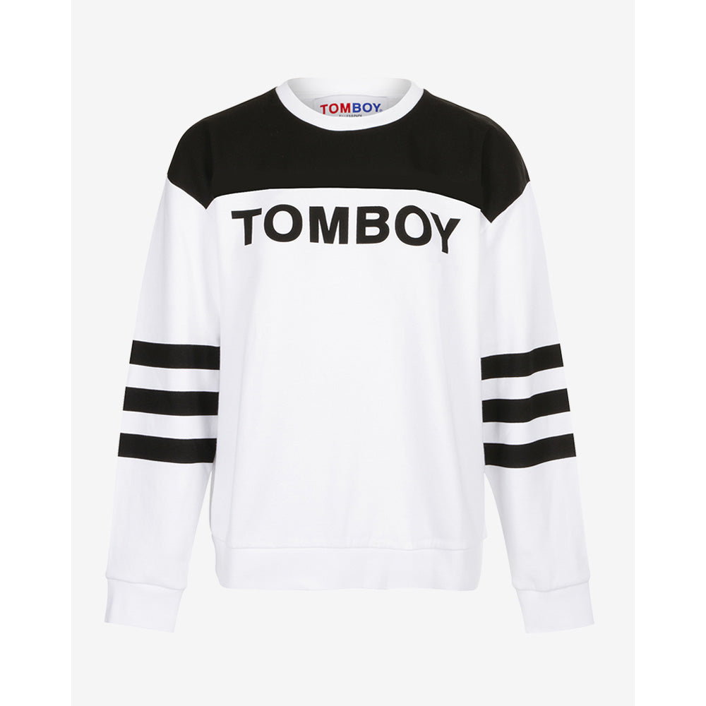 BOY WHITE/BLACK