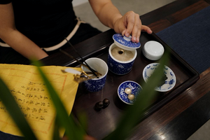 Celebrating QIXI (七夕) With Chinese Calligraphy & Incense
