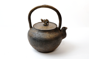 """Rain Dragon"" Kettle from Edo Period 【江户雨龙铁壶】"