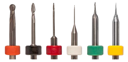 Compatible with DentMill Milling Centers - Milling Burs