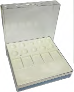 American Dental- Universal 10 Well Porcelain Palette Porcelain Trays by American Dental- Unique Dental Supply Inc.