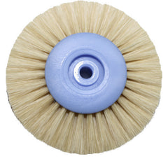 Stoddard - White Lathe Brushes 10/pkg Abrasive Bands by Stoddard- Unique Dental Supply Inc.