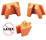 EXTND Silicone Mouth Props - Orange Mouth Props/Retractors- Dental Professionals by Plasdent- Unique Dental Supply Inc.