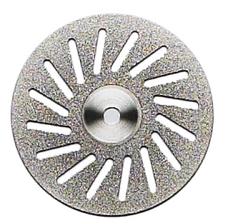 Diamond Disc #950 - Double Sided 1/pcs Diamond Discs by Dia Tessin- Unique Dental Supply Inc.