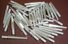 Aluminum #2 Medium Dowel Pins Dowel Pins by Unique Dental Supply Inc.- Unique Dental Supply Inc.