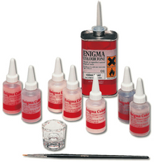Enigma  Color Tone Kit Stains by American Dental- Unique Dental Supply Inc.