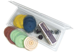 Foredom - Dental Lab Polishing Kit 30-Pc Bristle Brushes Lathe by Foredom- Unique Dental Supply Inc.