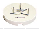 Honeycomb Round Ceramic Firing Tray Ceramic Firing Trays and Pegs by Wholesale Dental- Unique Dental Supply Inc.