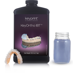 KeyOrtho IBT™ 1 KG by KeyPrint  by Keyprint- Unique Dental Supply Inc.