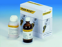 Paint Acryl Set - Paint Acryl carving acrylic Pattern Resins by Schutz Dental Group- Unique Dental Supply Inc.
