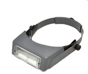 Deluxe Headband Magnifier Magnifiers & Microscopes by Grobet U.S.A- Unique Dental Supply Inc.