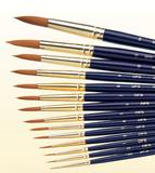 Ceramic brushes (Synthetic) Ceramic Brushes by DFS- Unique Dental Supply Inc.