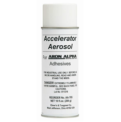 Aron Alpha- Accelerator Aerosol Adhesive/Glue by Aron Alpha- Unique Dental Supply Inc.