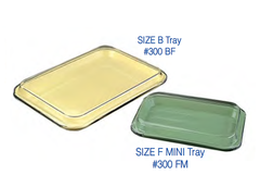 Setup Trays and Lids ORGANIZERS AND TRAYS- Dental professionals by Plasdent- Unique Dental Supply Inc.