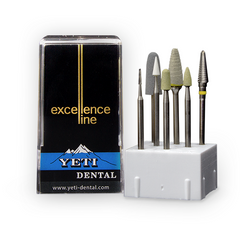 Zircon Polishing Set Zirconia / Porcelain Polishers by Yeti Dental- Unique Dental Supply Inc.