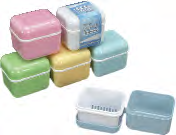 Plasdent- Denture Care Bath Denture Box by Plasdent- Unique Dental Supply Inc.