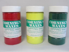 Dipping Wax 8oz Dipping Wax by Corning Waxes- Unique Dental Supply Inc.