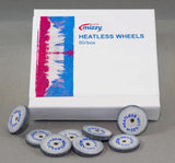 Mizzy White Heatless Wheels (50/PKG) Heatless Wheels by Keystone- Unique Dental Supply Inc.