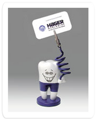 McTooth Clip - Tooth Note Holder Miscellaneous by Hager- Unique Dental Supply Inc.