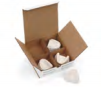 Model Storage Box Delivery Boxes by Keystone- Unique Dental Supply Inc.