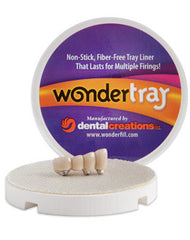 WONDERTRAY Ceramic Firing Trays and Pegs by Dental Creations- Unique Dental Supply Inc.
