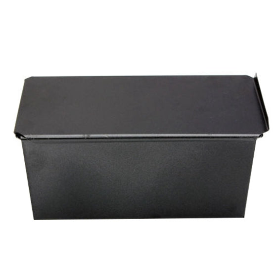HOT GCZW-Rectangle Bakeware Nonstick Box Large Loaf Tin Kitchen Pastry Bread Cake Baking Black