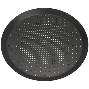 Pizza Baking Pan Nonstick Pizza Pan With Holes Steel Round Crispy Crust Pizza Oven Tray Perforated Bakeware Tool Kitchen Cook