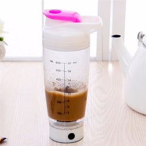 Electric Automation Protein Shaker Blender Water Bottle Automatic Movement Coffee Milk Smart Mixer Drinkware For Home 600ml