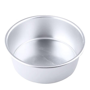 "Bakeware 8"" Cake 8"" Cake Pan Tin Round Round Inch Mold Mould Baking Tray Tool Alloy"