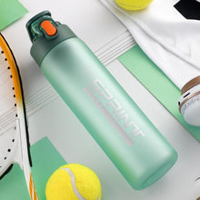 Load image into Gallery viewer, 550ml/750ml New Sports Water Bottle With Filter BPA Free Portable Healthy Matte Plastic Bottles Durable Drinkware Eco-Friendly