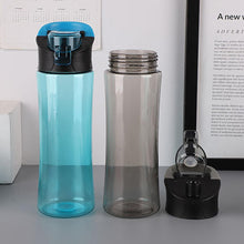 Load image into Gallery viewer, 600ml Outdoor Portable Plastic Water Bottle Leakproof Transparent Water Bottles Drinkware Bottles Sports Travel Drinkinng Cup