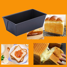 Load image into Gallery viewer, 2020 New Non Stick Toast Baking Pan Bread Cake Box Mold Carbon Steel Bakeware Tray DIY